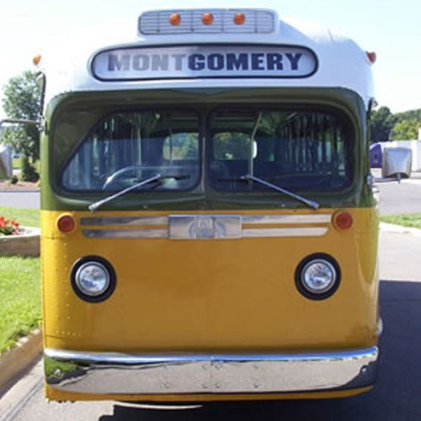 rosa parks bus reconstruction