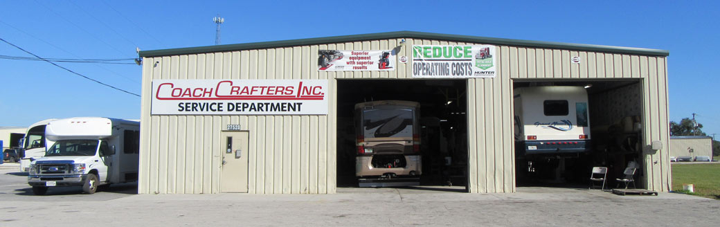 coachcrafters truck repair service center