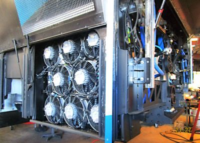 bus electrical cooling systems