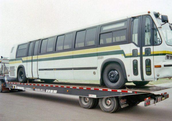 bus fire overhaul