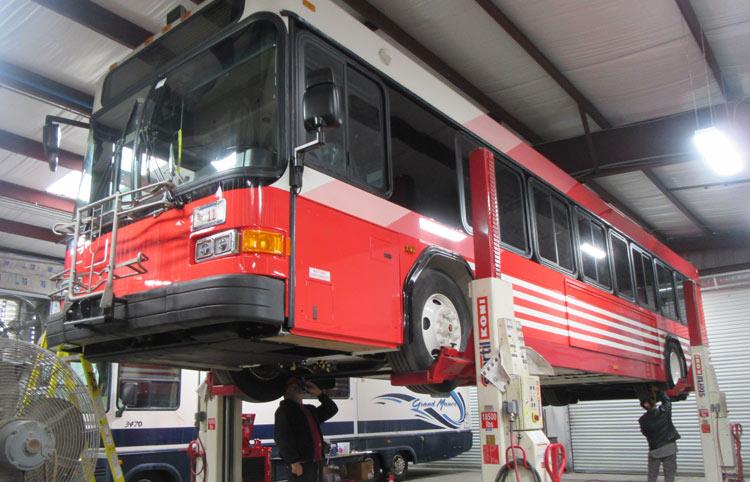 bus overhaul