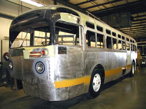 Rosa Parks Bus Rehabilitation | CoachCrafters Inc