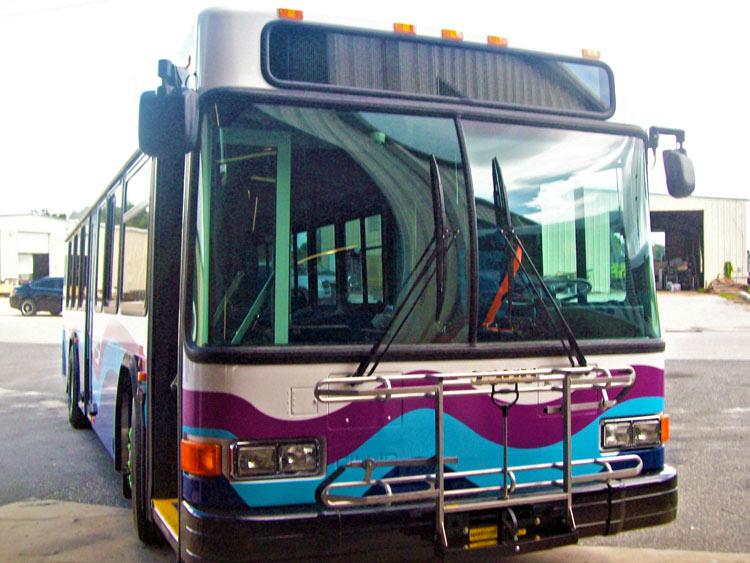 bus collision repair