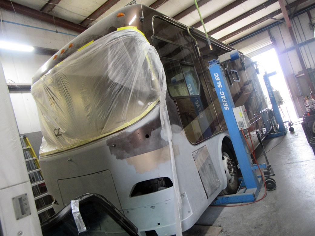 rv collision repair shop