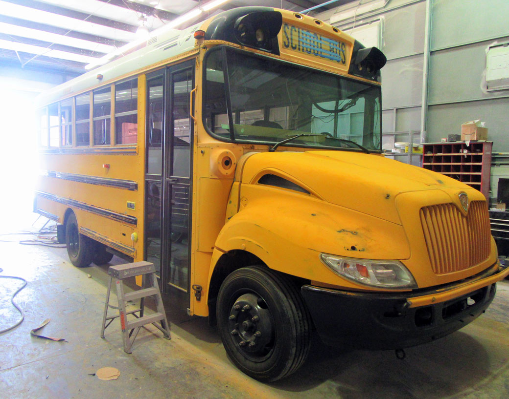school bus rehabilitation
