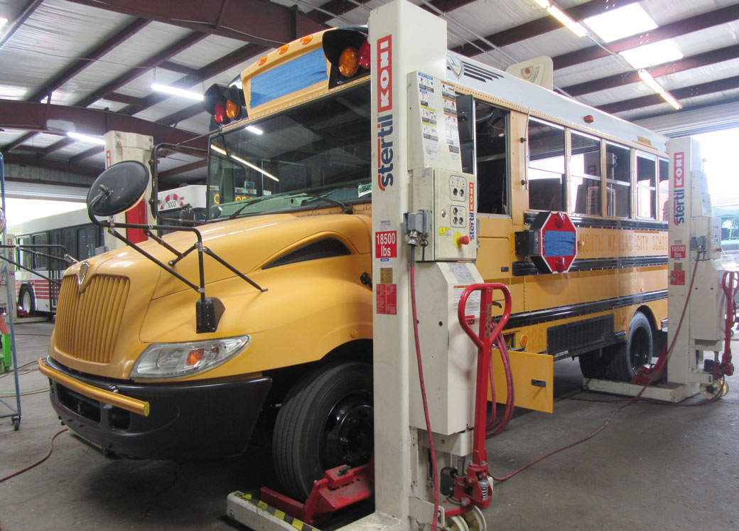school bus overhaul