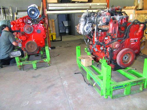 semi truck engine repair