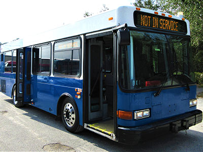 used charter bus for sale