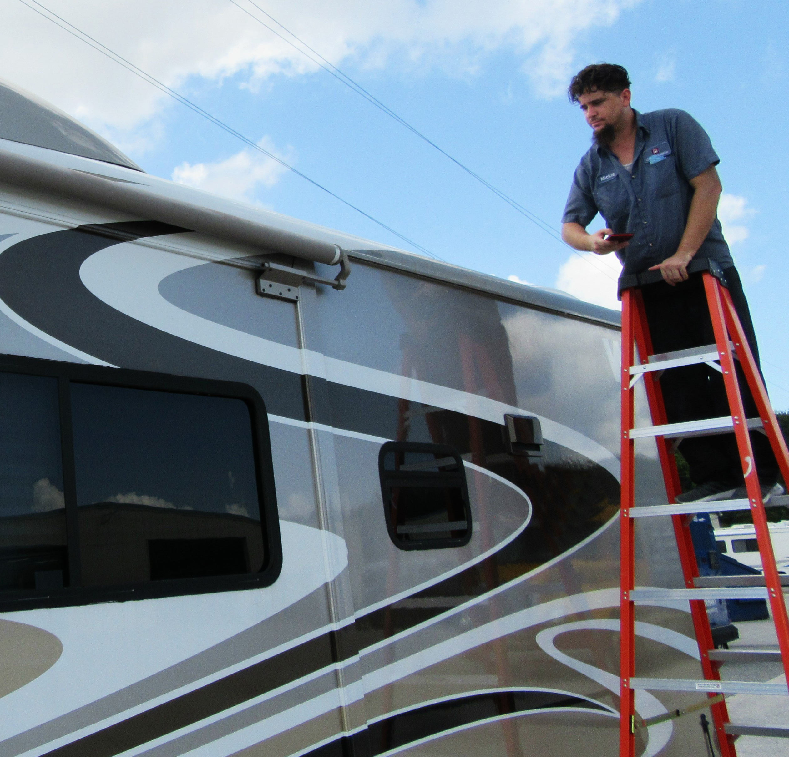 rv roof inspection